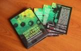 """Fichas con Información - Edición Triple CD """"Obra Electroacústica"""" de Gustavo Becerra-Schmidt."""