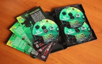 """Interior - Edición Triple CD """"Obra Electroacústica"""" de Gustavo Becerra-Schmidt."""