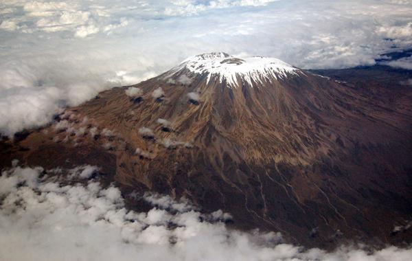 El sorprendente glaciardel Kilimanjaro