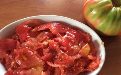 Tomate con sabor a tomate