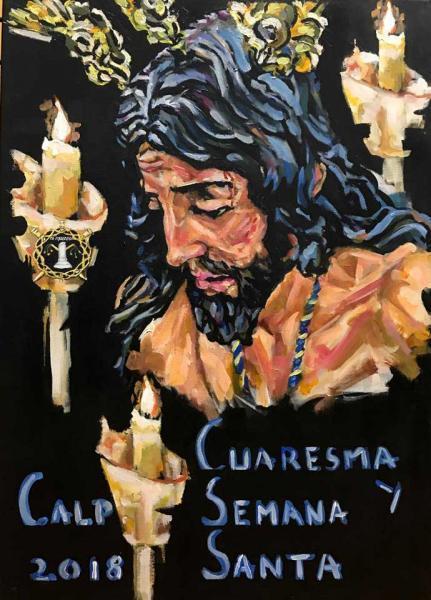 Cartel Semana Santa de Calpe
