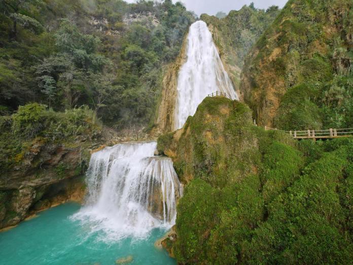 Cascadas El Chiflón, Chiapas, Pueblos Magicos de Mexico