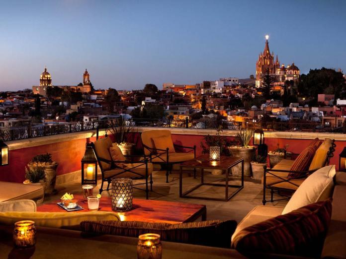 Vida nocturna en San Miguel de Allende, Guanajuato, Pueblos ...