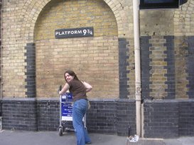 Off to Hogwarts! London, England