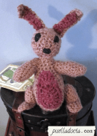 Bunny 3, tried more colors, didn't do a heart, different ears and features