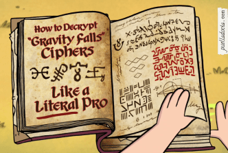 "How to Decrypt ""Gravity Falls"" Ciphers Like a Literal Pro"