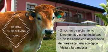 Oferta Hotel Rural Puerta del Oriente (Tresgrandas - Llanes - Asturias)