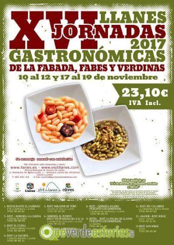 Jornadas gastronomicas de la fabada en Llanes