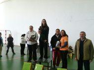 Podium senior femenino