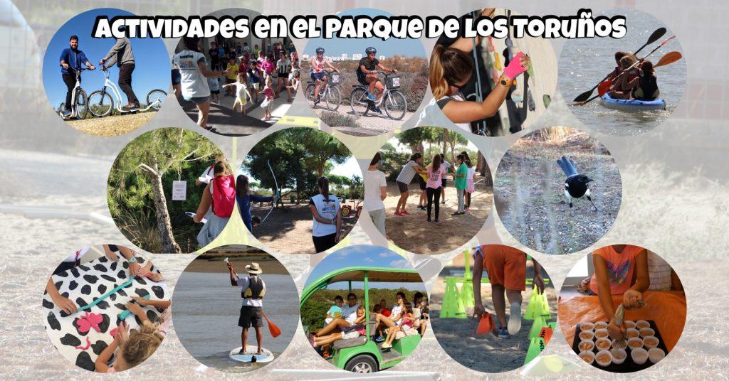Actividades en el Parque de los Toruños