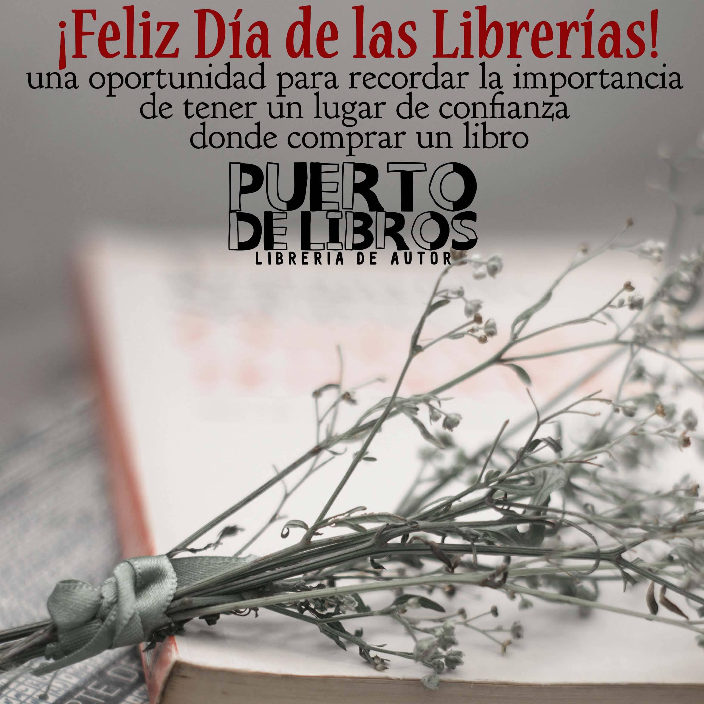Día Internacional de las Librerías #DíadelasLibrerías