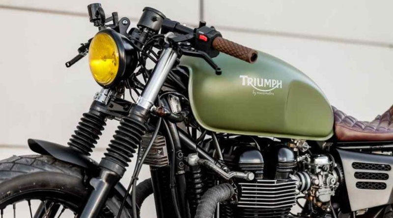 La Triumph Lady Speed de Macco Motors