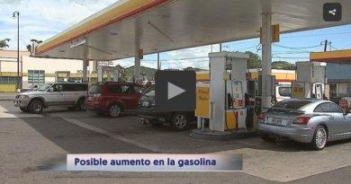 Posible aumento en el costo de la gasolina