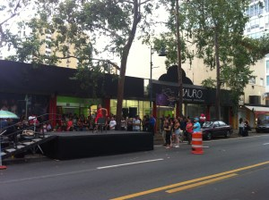 Mauro School of Dance has its opening ceremonies on Ponce de Leon Ave next to Abracadabra Café.