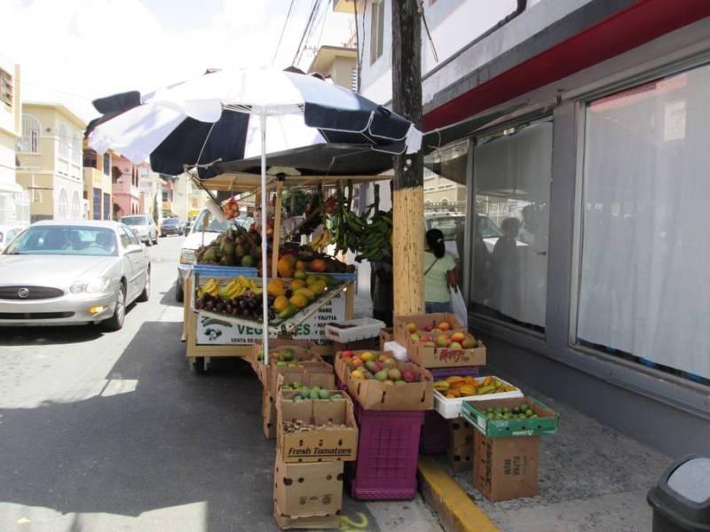 Local vendors in the area