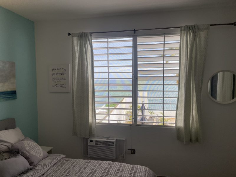 Guest Apartment Bedroom with Ocean View