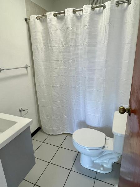 Bathroom with shower (no tub)