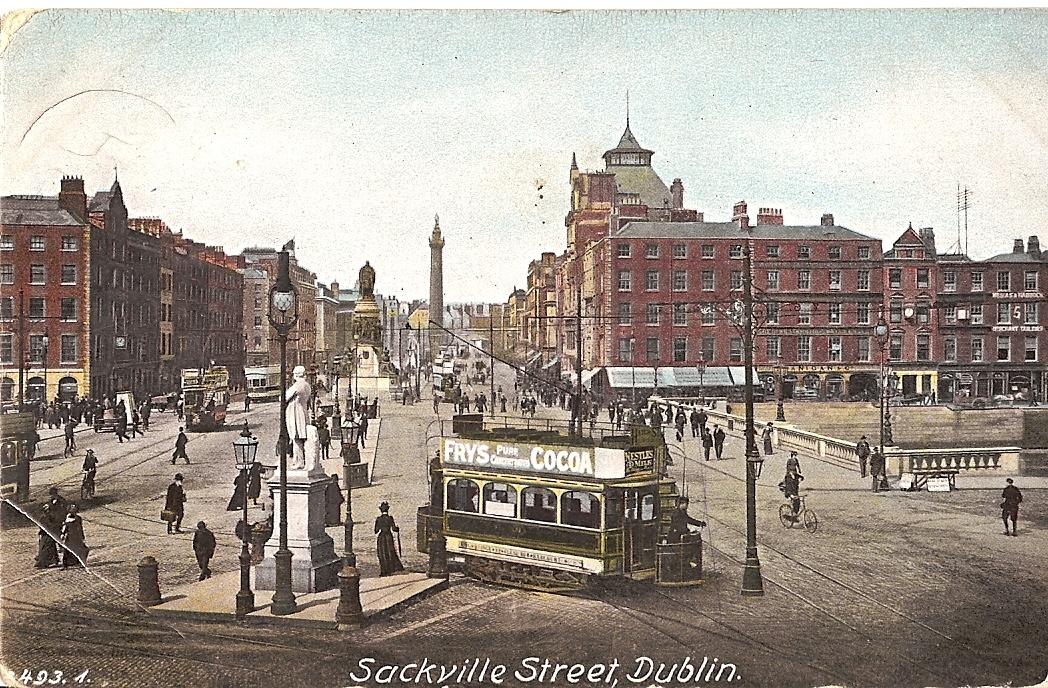 Sackville Street Postcard
