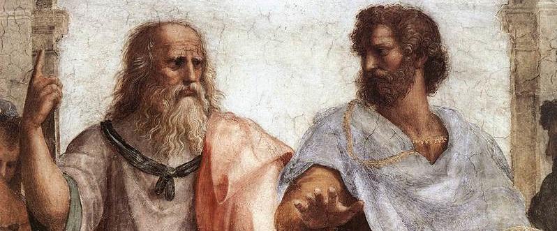 Sanzio - Plato and Aristotle