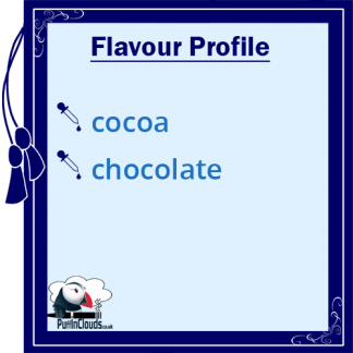Purity Belgium Cocoa High VG E-Liquid Flavour Profile