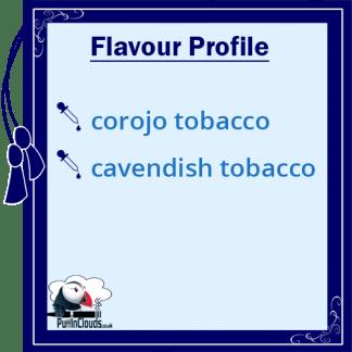 Purity Longhorn Vape Juice Flavour Profile