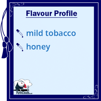 Cuttwood Tobacco Trail E-Liquid - Flavour Profile