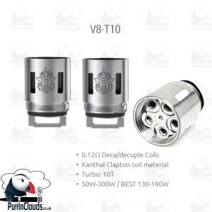 SMOK TFV8 V8-T10 Coils (3 Pack)