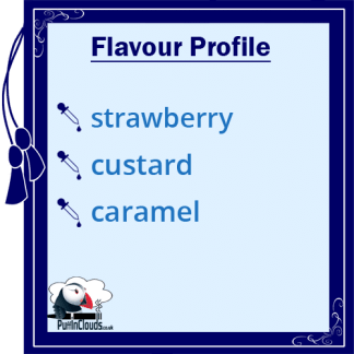 Dinner Lady Strawberry Custard eLiquid - Flavour Profile