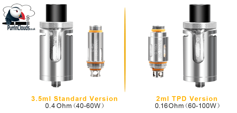 Aspire Cleito EXO Tank - EXO Coils | Puffin Clouds UK