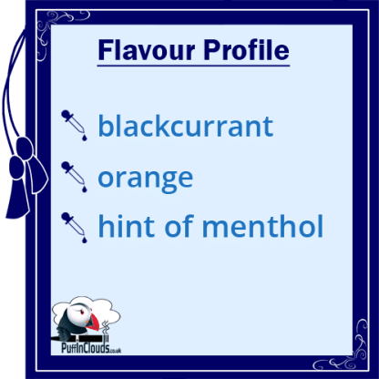 Dinner Lady Black Orange Crush E-Liquid - Flavour Profile | Puffin Clouds