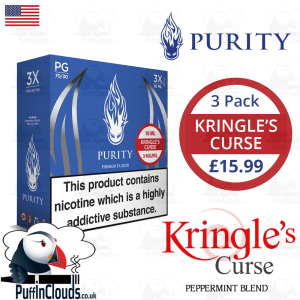 Purity Kringles Curse E-Liquid | Puffin Clouds UK