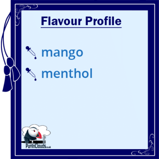 Nasty Juice Cush Man E-Liquid (Yummy Fruity Series) Flavour Profile   Puffin Clouds UK