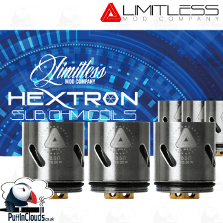 Limitless Hextron Coils ().5 Ohms) | Puffin Clouds UK