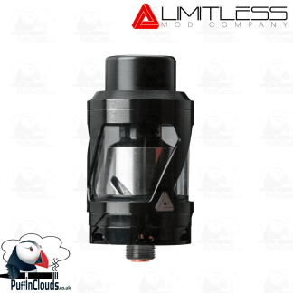 Black Limitless Hextron Tank (UK Edition) | Puffin Clouds UK