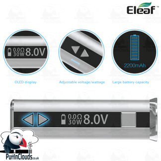 Eleaf iStick 30W Mod | Puffin Clouds UK