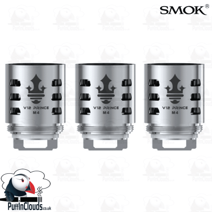 SMOK V12 Prince M4 Coils (3 Pack) | Puffin Clouds UK