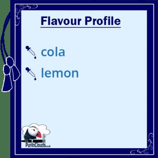 Ohm Brew Fizzy Cola Nic Salt E-Liquid Flavour Profile | Puffin Clouds UK