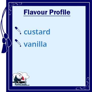 Ohm Brew Vanilla Custard Nic Salt E-Liquid 50/50 | Puffin Clouds UK