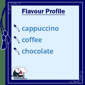 Ohm Brew Cappuccino Nic Salt E-Liquid 50/50 | Puffin Clouds UK
