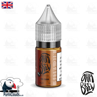 Ohm Brew The Cuban Nic Salt E-Liquid 50/50 | Puffin Clouds UK