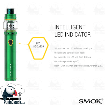 SMOK Stick Prince UK Edition - Puffin Clouds UK
