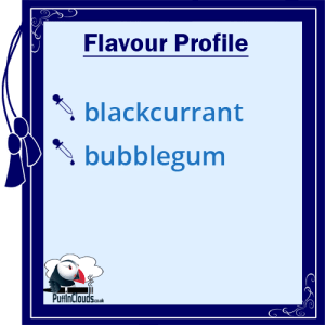 IVG Blackcurrant Millions Short Fill E-Liquid 50ml Flavour Profile   Puffin Clouds UK