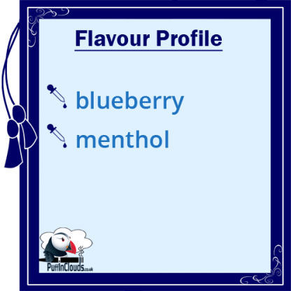 IVG Blueberry Crush Short Fill E-Liquid 50ml Flavour Profile | Puffin Clouds UK