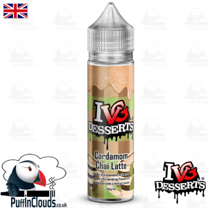 IVG Cardamom Chai Latte Short Fill E-Liquid 50ml | Puffin Clouds UK