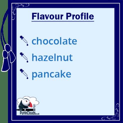 IVG Choco Haze Pancake Short Fill E-Liquid 50ml Flavour Profile | Puffin Clouds UK