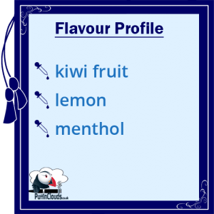 IVG Kiwi Kool Short Fill E-Liquid 50ml Flavour Profile | Puffin Clouds UK