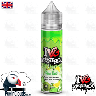 IVG Kiwi Kool Short Fill E-Liquid 50ml | Puffin Clouds UK