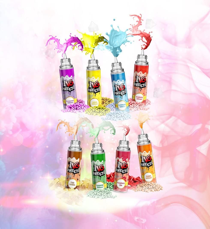 IVG Sweets E-Liquids   Puffin Clouds UK