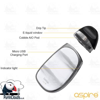 Aspire Cobble Pod Starter Kit | Puffin Clouds UK