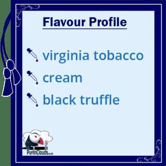 IVG Gold Tobacco Short Fill E-Liquid 50ml - Flavour Profile | Puffin Clouds UK
